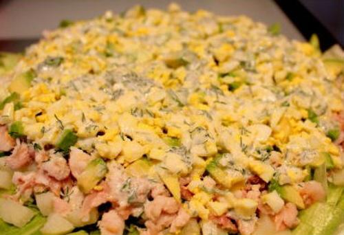 Так выглядит готовый салатик
