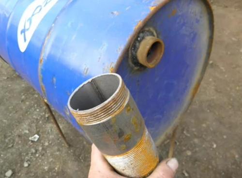 Требуемый кусок трубы