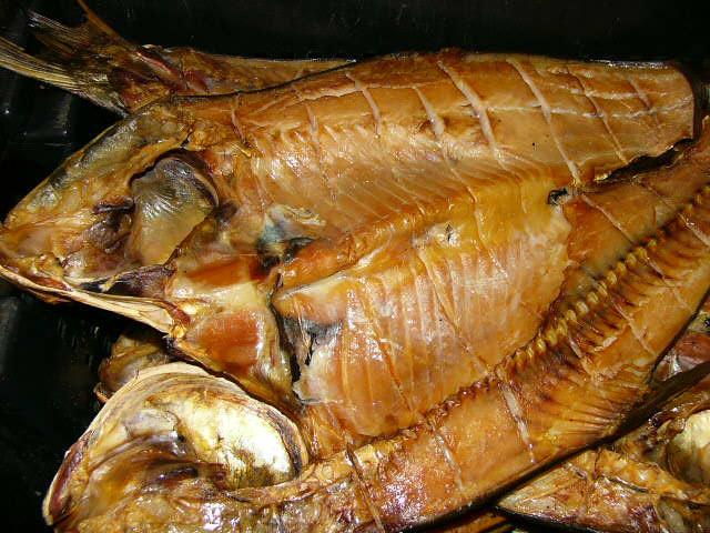 Хранение копчёной рыбы