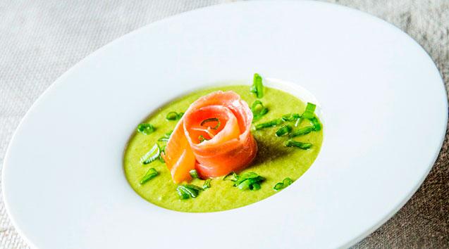 Огуречно-рыбный суп-пюре
