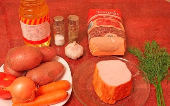 Такой суп позволяет нам проявить фантазию, варьируя ингредиенты