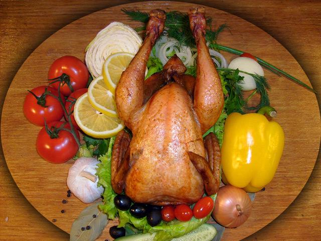 Копчёная курица - это вкусно и полезно