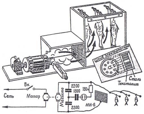 Электростатическая коптильня -