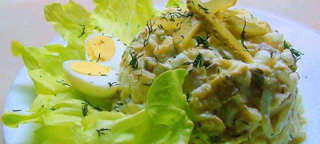 Внешний вид салата