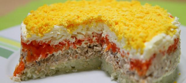 Салат«Мимоза»